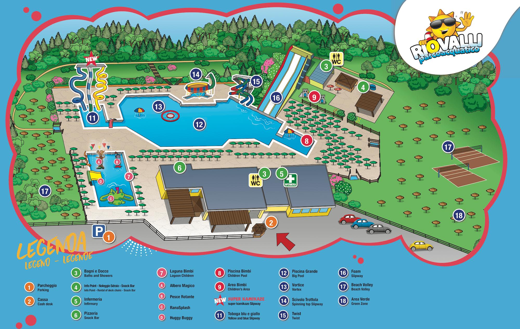RIOVALLI - Parco Acquatico
