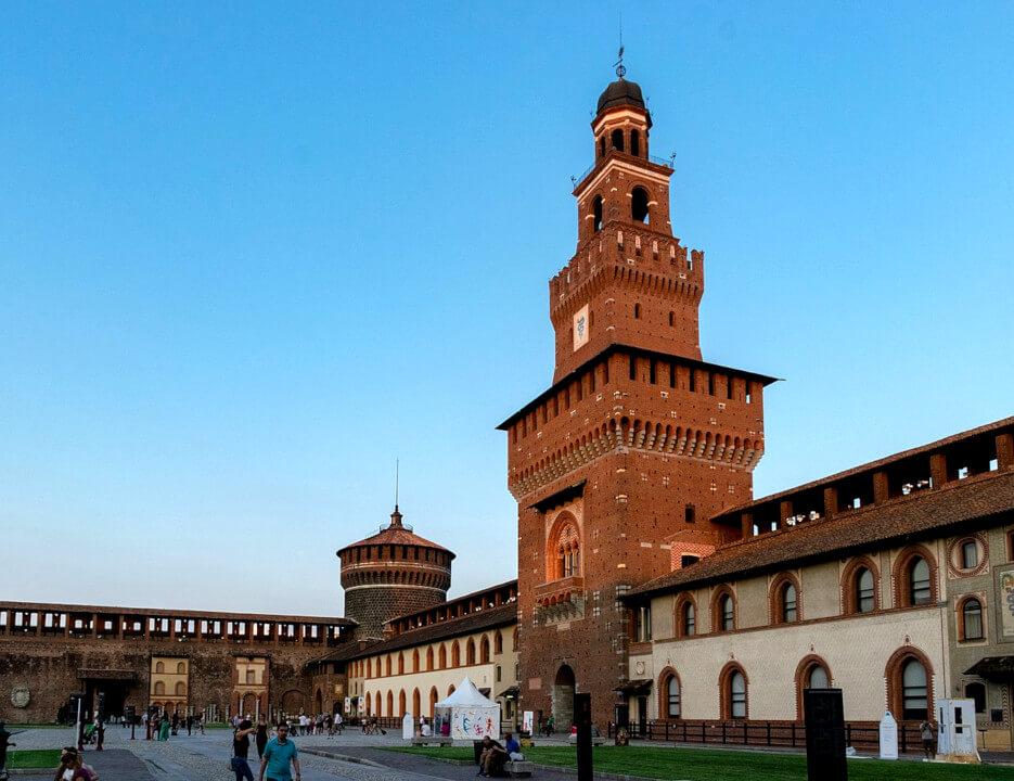 Milano - from East coast