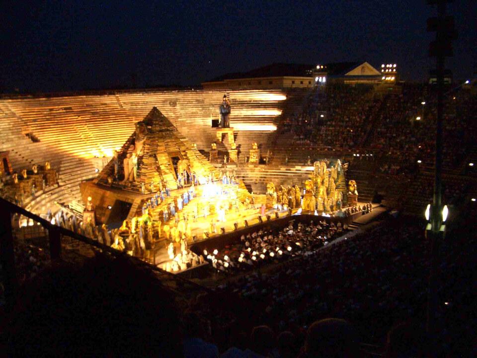 Verona Arena Opera Transfer - from WEST coast