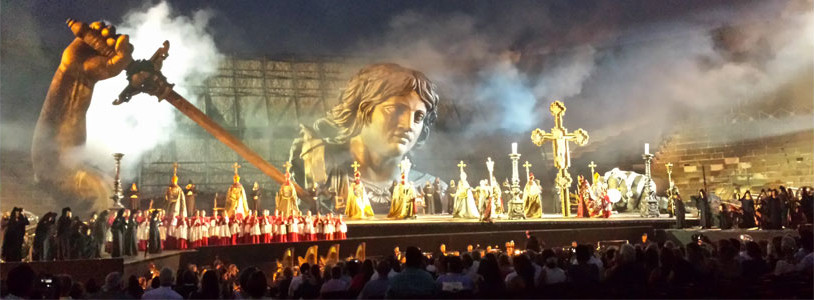 Verona Arena Opera Transfer - from WEST coast