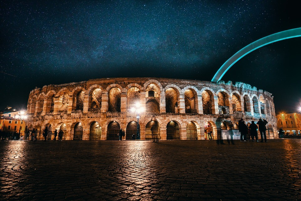 Verona Arena Opera Transfer - from EAST coast