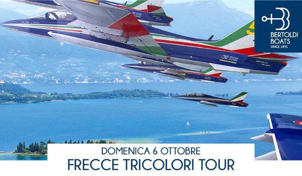 Frecce Tricolori Show by Boat